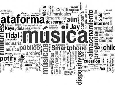 ¿Y la música dónde está? ¿En los cables?