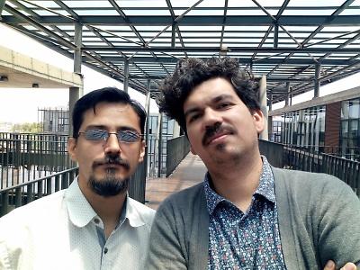 La complejidad como sello distintivo y la necesidad de espacios mixtos de investigación. Fernando Escobar Díaz y Mario Páez Lancheros son docentes del Programa de Ética y miembros del equipo Nuclear Duoc UC, sede Maipú.
