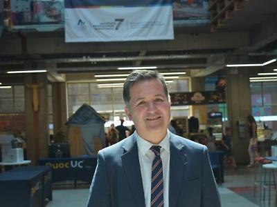 Objetivos 2021: Desafíos de nuestra sede para un año de incertidumbre. Rodrigo Lagos Reyes. Director de la sede San Joaquín de Duoc UC.