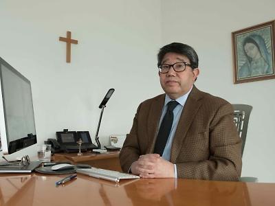 Imperio de lo falso. Kiyoshi Fukushi Mandiola. Secretario General y Director General de Aseguramiento de la Calidad de Duoc UC.