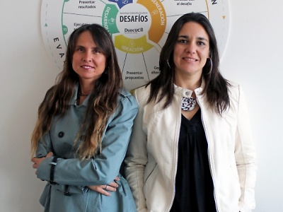 Haciendo carne el Proyecto Educativo a través de la creatividad e innovación Académica para acercar el modelo educativo a la experiencia del estudiante en el aula. Karin Wolter Lizana y Karen Schwartzman Osorio.
